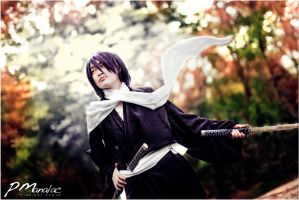 Hakuouki Shinsengumi Kitan: Saito by big-pao