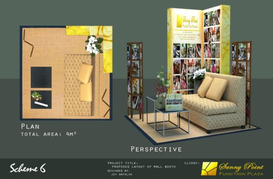 SUNNY POINT FUNCTION PLAZA MALL BOOTH - SCHEME 6 by rj-king