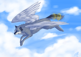 Sky God v.2 by MayhWolf