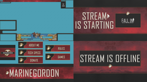 Marinegordon Twitch Graphics Pack by WConman88