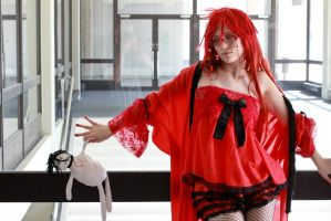Grell Cosplay - Wish you were here by diriagoly