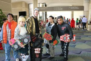 Megacon 2015: Griff's Gang and Marty by pgw-Chaos