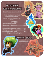Sticker Commissions- Limited time by PiruuPi