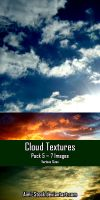 Cloud Textures - Pack 5 by Aimi-Stock