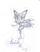 Miechelle the Wolf by Christin-Cat-Bat