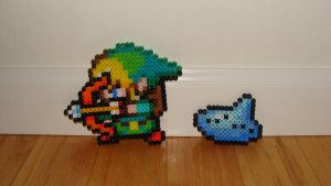Link Bead Sprites by Night-TAG