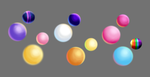 Mane Six - Color Spheres by AC-whiteraven