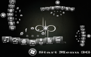 Start Menu 3G by jbainbrid