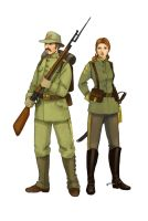 Soldiers by Werdandi