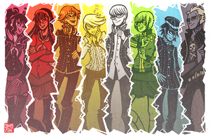 o jus some p4 peeps by creepyfish
