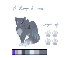A rainy summer :com/adopt: by Featherwishes