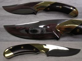 Hunting Knife - Upswept Point by deadpoole