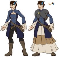 Calamity Winter Outfit ref by FicusArt