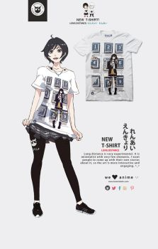 Long Distance T-Shirt by P-Shinobi