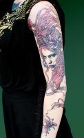ginger sleeve by Ashiwa666