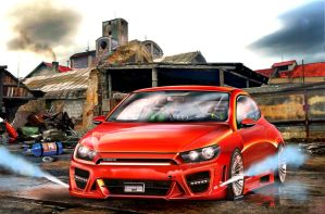 yusufbatirel-vw-scirocco-nos by yusufbatirel