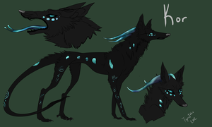 Kreptis Reference: Kor by TigresToku