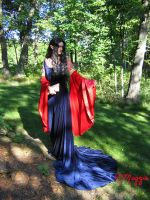 Blood Red Gown - Completed by ThreeRingCinema