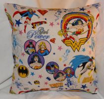 Girl Power Pillow 1 by quiltoni