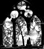 Forgotten Church Window by khantheripper