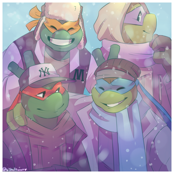 Merry Turtley Christmas by Shellsweet