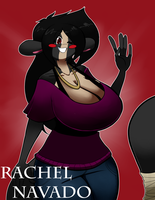Rachel M. Navado by BlackSen