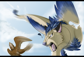 Air hunting by Creambox