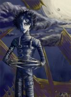 Edward Scissorhands by Shinanai