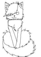 Free cat lineart by spacecats13