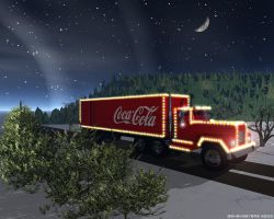 Coca Cola Truck by smsmasters