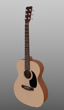 acoustic guitar by YourGodLucifer