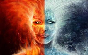 Fire and Ice by FantasyMaker