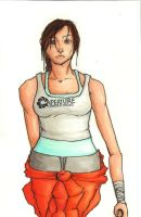 Chell by KAD2LMO