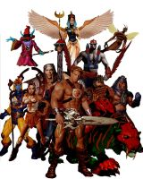 He-Man And The Masters Of The Universe by planetbryan