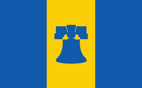 New Flag of Philadelphia by improbableSpace