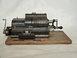 mechanical calculator by oosstock
