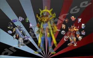 Digimon Frontier - Fusion by DNACharge