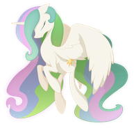 celestia is like so totally cool and stuff by Emkay-MLP
