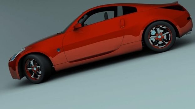 350z_red_1 by CapraruConstantin