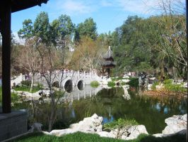 Chinese Garden Waterscape by ShipperTrish