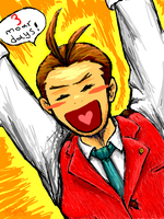 Apollo Justice in 3 days by Pink-Shimmer