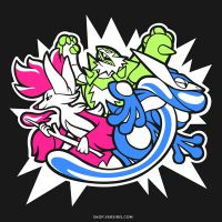 Triple Threat [T-Shirt] by Versiris