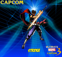 Strider New Wallpaper 2 by CrossoverGamer