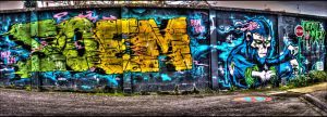 Dead Monkey Pano HDR by genouvalium