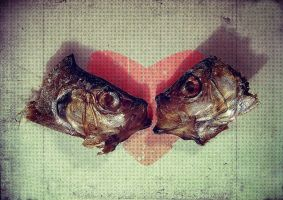Fish Love for Valentine by anderton
