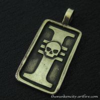 Bronze Inquisition pendant by Sulislaw