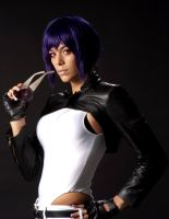 Major Motoko Kusanagi by MissSinisterCosplay