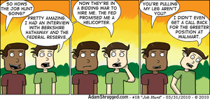 Job Hunt by AdamShrugged