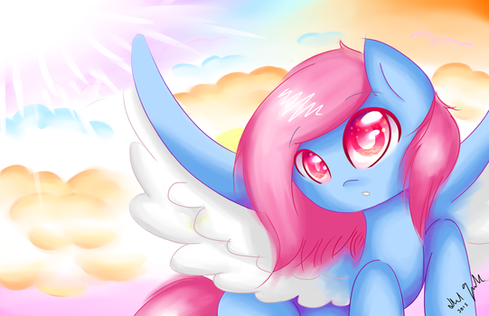 Feather Wish Wallpaper by FeatherWishMLP