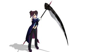MMD evil scythe Download by 9844